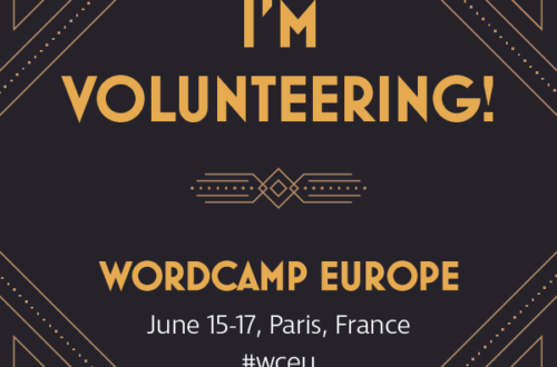 Why I volunteer at WordCamps